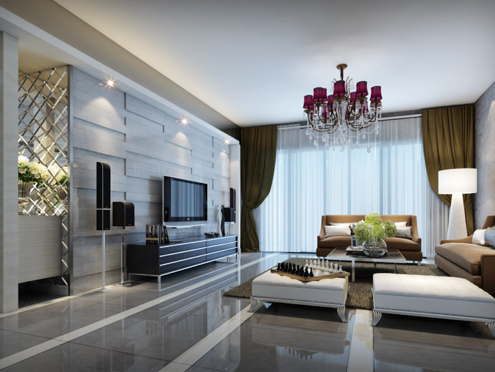 Two Common Types in Home Design Renderings
