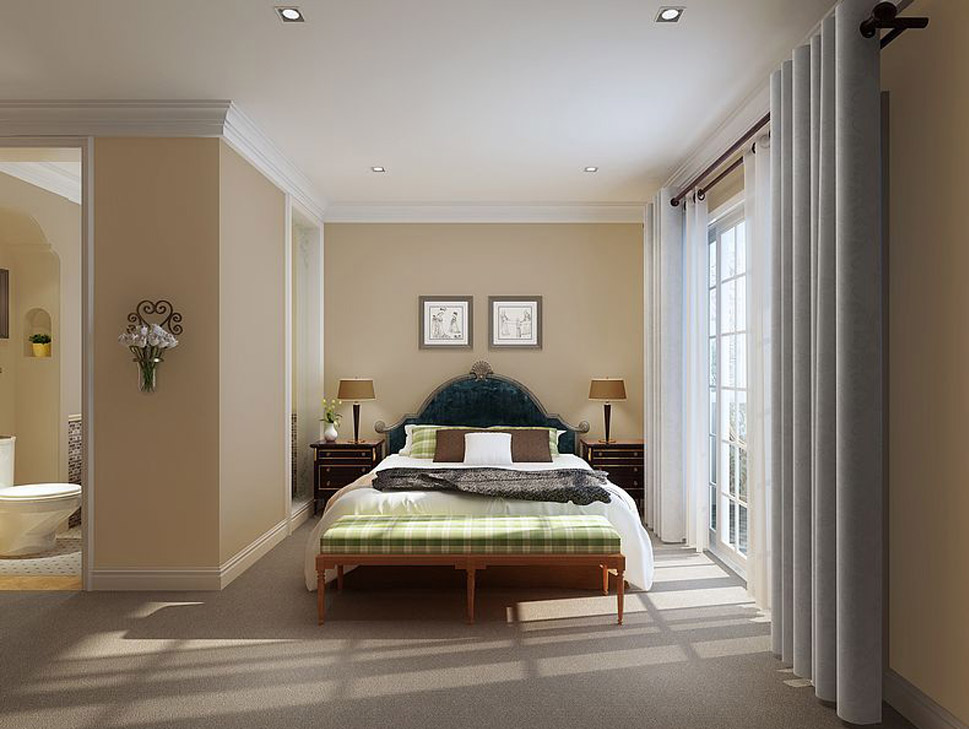 Interior Rendering Background Light And Color Composition